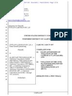 FILED - Outlaw Laboratory LP v Al-Eryani et al (CAND).pdf
