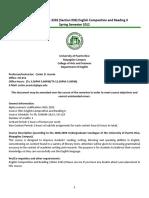 Course Syllabus INGL 3202.036