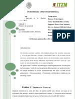 Unidad II Desarrollo Sustentable Escnario Natural