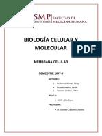 Seminario 2 Membrana Celular
