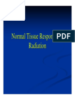 Normal Tissue Responses to Radiation