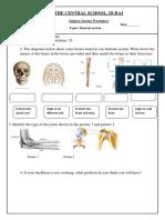Skeletal System -Study Material