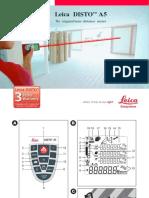 Leica Geosystems Leica DISTO A5 Manual Del Usuario