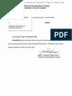 Order to dismiss superseding indictment against Sen. Bob Menendez and Salomon Melgen