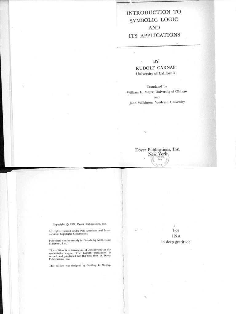 Rudolfcarnapintroductiontosymboliclogicandbookzapdf rudolfcarnapintroductiontosymboliclogicandbookzapdf biocorpaavc Image collections