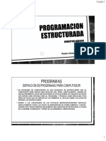 T 01 Programación Estructurada 1