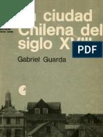 La Ciudad Chilena Sel Siglo Xviii