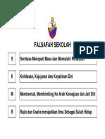 FALSAFAH SEKOLAH