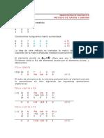 Clase 1.1 Inversión de Matrices Por El Método de Gauss y Jordan_Abril 2015_Ejemplo1