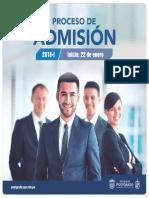 Postgrado UPT - Admisión 2018-I
