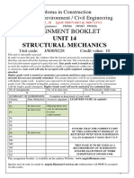 14 Structural Mechanics Assignment --Sem Ver 2017 18