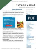 Nutrición y Dieta Para Diabetes y Problemas de Tiroides _ Nutrición y Salud