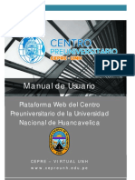 Manual de Usuario - Cepre Virtual
