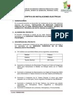 1. Memoria Descriptiva de Instalaciones Electricas