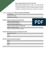 ISO 14001 Sistema de Gestión Ambiental