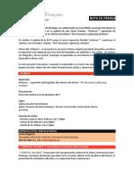Nota de Prensa - Asterisco