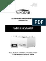 MINOTAIR BR12K Guide de Lusager Rev 009 Web