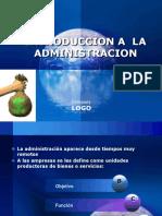 125815478 Introduccion a La Administracion Ppt