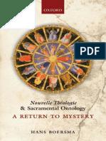 Hans Boersma - Nouvelle Théologie and Sacramental Ontology.pdf