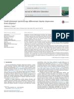 Glutamate Spectroscopy Bipolar Depression