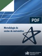 Matemática - Unifran - Metodologia de Ensino da Matemática - unidade 2