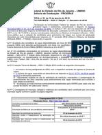 Edital Sisu-unirio 2018.1 - Com Alteracao Do Mec