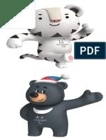 PyeongChang2018 Mascot