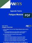 AWS100 Appendix 12 Fatigue