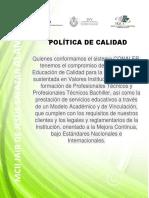 5.- Politica de Calidad 2.17.18