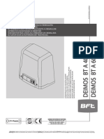Manual Instalare BFT DEIMOS BT A400