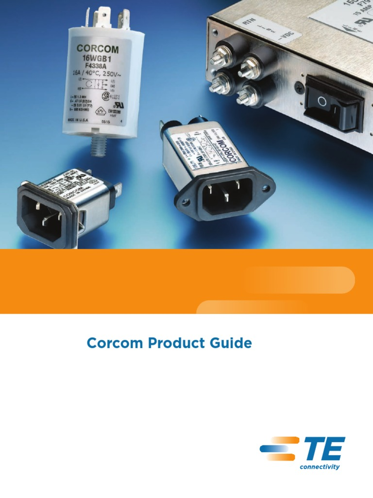 Corcom Product Guide 0611 Electromagnetic Interference Power Eop Most Commonly Using Pairs Of Powerline Adapters Electrical Engineering