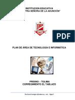 Plan de Area Tecnologia e Informática