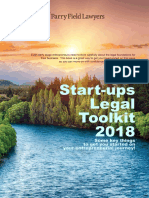 Parry Field Start Ups Legal Toolkit