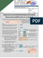 Diseño de Apoyos de Neopreno Metodo AASHTO LRFD