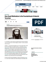 How Saudi Arabia is the Fountainhead of Islamist Terrorism for Distribution