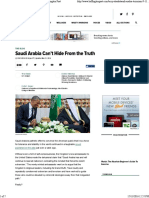 Saudi Arabi Cant Hide From the Truth for Distribution