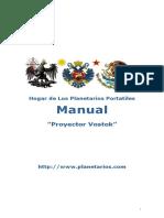 Manual Proyector Vostok