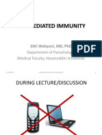 02 Cell Mediated Immunity - Dr Siti Wahyuni