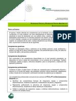 7.- PERFIL DE EGRESO ELECTROMECANICA