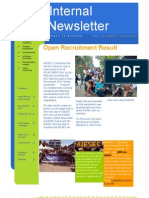 Internal Newsletter #2
