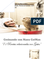 Cocinando Con Manu Catman Recetas Relacionadas Con Gatos
