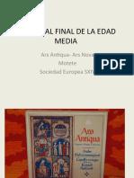 04 Musica Al Final de La Edad Media Ars Antiqua Ars Nova