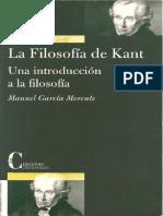 García Morente, Manuel - La Filosofía de Kant. Un a Introducción a La Filosofía