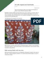 Batikdlidir.com-Batik Sarong Dublin With Original and Handmade