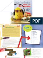 Sample Blad for Kosher by Design Teens and 20-Somethings
