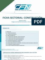 Ficha Sectorial Construccion