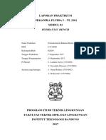 Laporan Praktikum Mekanika Fluida Modul 01