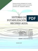 SISTEMAS DE POTABILIZACIÓN DEL RECURSO AGUA.docx
