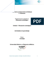 Unidad 1 Actividades de Aprendizaje DPES