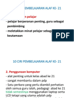1.0 Ciri - Ciri PAK 21